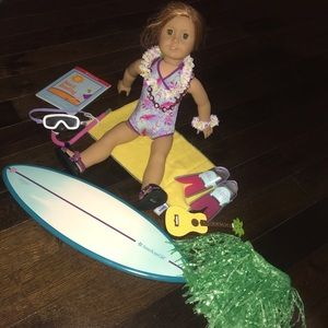 American Girl Doll Surf Set
